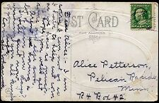 Pelican Rapids MN Manuscript RFD cancel Type 11E Otter Tail Co. UNLISTED RFD204