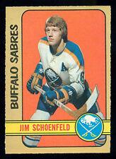 1972 73 OPC O PEE CHEE #220 JIM SCHOENFELD NM RC BUFFALO SABRES HOCKEY ROOKIE