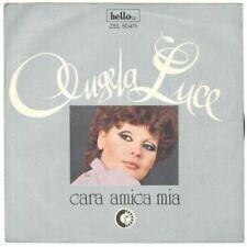 "Angela Luce Vinile 7"" 45 Giri Cara Amica Mia - Hello Zel 50471- Nuovo"