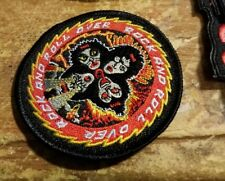 KISS COLLECTABLE RARE VINTAGE PATCH EMBROIDED 90'S METAL LIVE PAUL