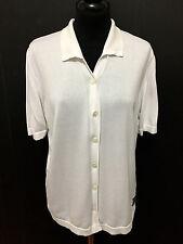 VERSACE COUTURE Camicia Donna Cotone Cotton Woman Shirt Pole Sz.M - 44