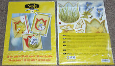 JEJE SANDY ART 3D Creative with Sand 3 Cards + env 3 bags sand Decoupage 1.9103