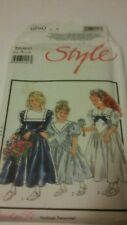 STYLE #1890 Sz. A-CHILDREN'S LINED BRIDESMAID DRESSES