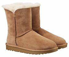 Kirkland Signature Ladies Genuine Sheepskin Shearling Lined ZIPPER BOOTS Size 7