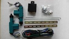 2 DOOR UNIVERSAL CENTRAL LOCKING FULL KIT BRAND NEW 12 VOLTS FITS ANY CAR ALARM