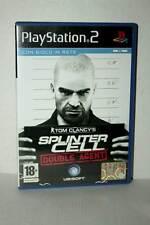 SPLINTER CELL DOUBLE AGENT GIOCO USATO OTTIMO PS2 VERSIONE ITALIANA VBC 45770