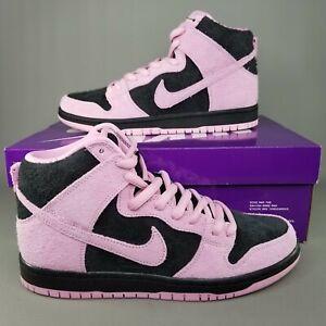 Nike SB Dunk High Pro PRM Invert Celtics Skate Shoes Mens SZ 8 Pink Black Green