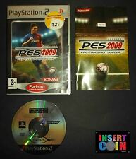 JUEGO PRO EVOLUTION SOCCER 2009   PLAYSTATION 2 PAL ESPAÑA   PS1 PS2 PS3