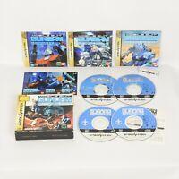Mobile Suit GUNDAM Side Story THE BULUE DESTINY Sega Saturn 2419 ss