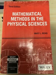 Mathematical Methods In The Physical Sciences (third Edition) By Mary L. Boas