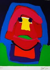 Karel Appel 1970 Signed Lithograph on Arches Archival Paper
