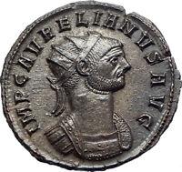 AURELIAN 270AD Silvered Ancient Roman Coin  Marital harmony Concordia i73501