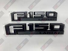 15 thru 20 F-150 OEM Ford Black Special Edition Fender Emblem Set Lariat