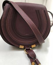Chloe Marci Round Leather Crossbody Bag New With Tags