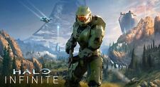 Halo Infinite 20x37 Vinyl Poster + 3 Free 13x19 Gloss Posters Halo Collection