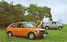 Postcard Award-Winning Honda Civic Promotional Card ca 1972-76