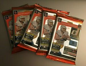 (5) 2021 PANINI DONRUSS NFL FOOTBALL Retail Packs (8 Cards Each) Lawrence RC?