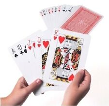 Jumbo Playing Cards Extra Large Cards Playing Cards Pack of 52 Game Deck
