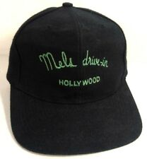 MELS DRIVE-IN HOLLYWOOD MEN'S BLACK CAP HAT SNAPBACK
