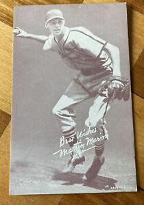 Martin Marion Exhibits 1947-66 St. Louis Cardinals Baseball Card