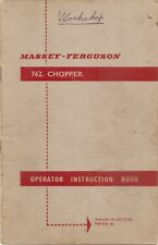 FERGUSON CHOPPER INSTRUCTION BOOK    ...............................  ORIGINAL