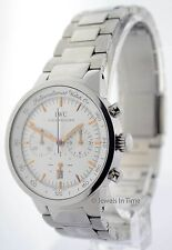 IWC Mens GST Chronograph Stainless Steel Quartz Box/Manual 3727