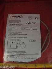 Contrinex Dw Av 623 04 282 Proximity Sensor Switch Sn 15mm 10 30v Dc 3 Pin New