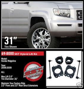 """ReadyLift SST Lift Kit 2006-2012 Honda Ridgeline 2"""" 69-8000"""