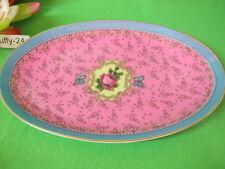 Platte oval 25,5 cm  Rose  Eva Maria Nitsche von Goebel