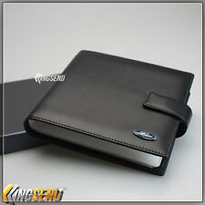 deluxe FORD Leather CD Case Car DVD Holder Disc Album Disk Storage Carry Box