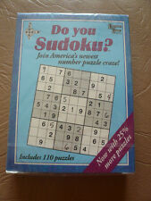 Do You Sudoku?  110 puzzles by University Games