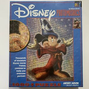 Disney Photomosaics Puzzle: Mickey Mouse As the Sorcerer's Apprentice New USA