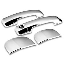 For 07-17 Toyota Tundra Double Cab 4 Door Chrome Door Handle Covers Overlay Trim