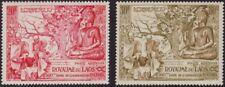 LAOS, 1956. Buddha C20-21 set, Mint