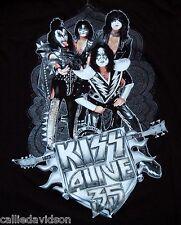 KISS Alive 35 Tour Group Concert T-Shirt L UNWORN Gene Simmons Paul Eric Tommy