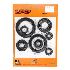 10pcs Engine Oil Seal Kit Set Fits Honda CRF450R CRF 450 2002-2006 2005 2004 03
