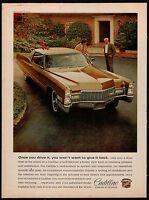 1968 CADILLAC 2-Door Coupe Classic 1960s Sixties Car Photo AD