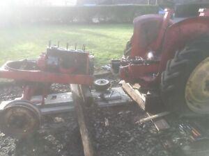 David Brown 950 Tractor Breaking