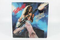 Ted Nugent Weekend Warriors 1978 Epic Records 33 RPM Vinyl Record Album LP