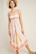 NWOT Anthropologie Savannah Halter Dress Sz 4