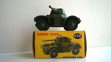 Dinky Toys No.670 Armoured Car (boxed)
