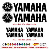 6X PEGATINAS YAMAHA STICKER VINILO PACK SPONSOR MOTO AUTOCOLLANT LOGO