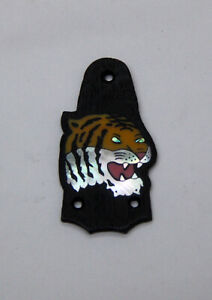 Truss Rod Cover with Tiger Head Inlay will fit Taylor 3 Hole