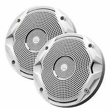 """JBL MS6510 Boat Marine Audio White 6.5"""" inch Cone Stereo Speakers - Set of 2"""