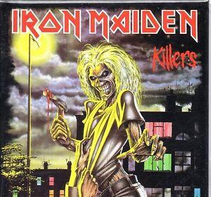 Iron Maiden Killers square steel fridge magnet  75mm x 75mm   (ro)