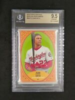 2019 Topps Heritage New Age Performers Juan Soto Nationals BGS 9.5 GEM MINT