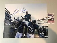 Jake Elliott Autograph Signed Eagles 61 Yard GW FG 16x20 Photo JSA