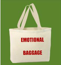 100% Algodón Emotional Equipaje Divertido BOLSA para la vida Shopper