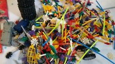 K'nex Lot 2 Sets With Instructions Lots of Pieces Each Set has Missing Pieces