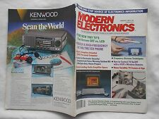 MODERN ELECTRONICS MAGAZINE-JANUARY,1986